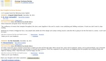 Image of first two reviews on Amazon for Mirror