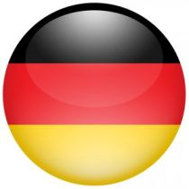 German flag colors in circle